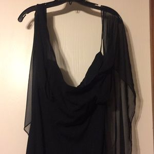 NWT: Carole Little Black evening gown, 14